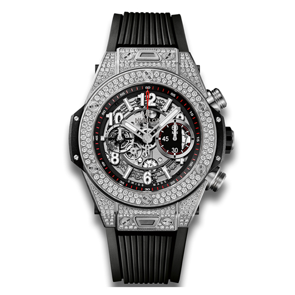 BIG BANG UNICO TITANIUM PAVE
