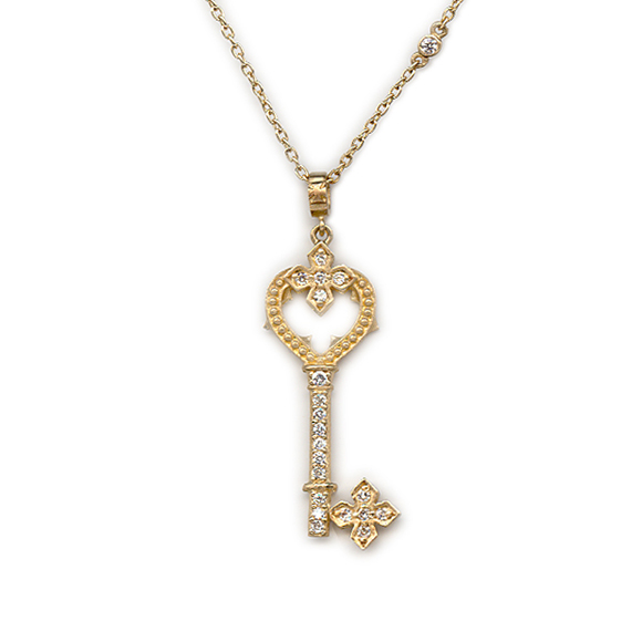 PETITE GOTHIC PRINCESS HEART KEY