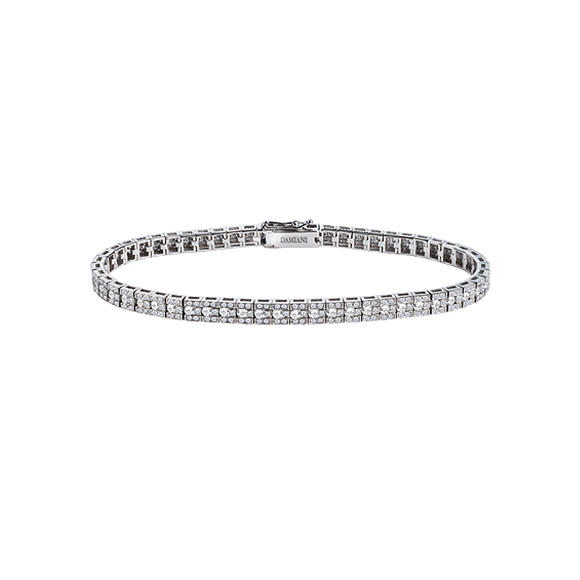 BELLE ÉPOQUE WHITE GOLD AND DIAMONDS BRACELET
