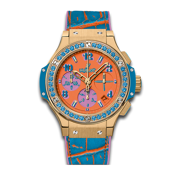 BIG BANG POP ART YELLOW GOLD BLUE