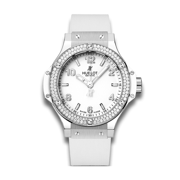 BIG BANG STEEL WHITE DIAMONDS