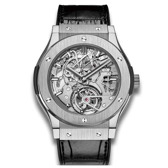 CLASSIC FUSION TOURBILLON CATHEDRAL MINUTE REPEATER TITANIUM