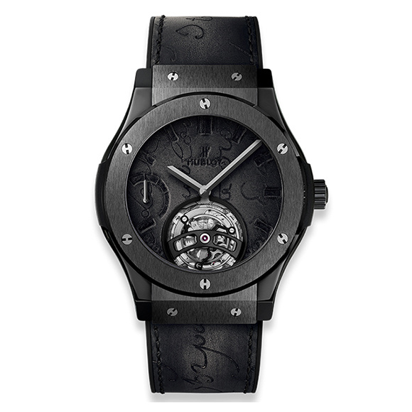 CLASSIC FUSION TOURBILLON POWER RESERVE 5 DAYS BERLUTI SCRITTO ALL BLACK
