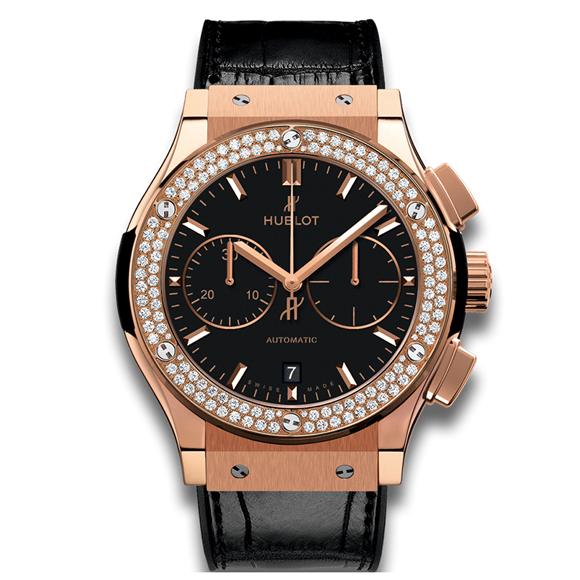CLASSIC FUSION CHRONOGRAPH KING GOLD DIAMONDS
