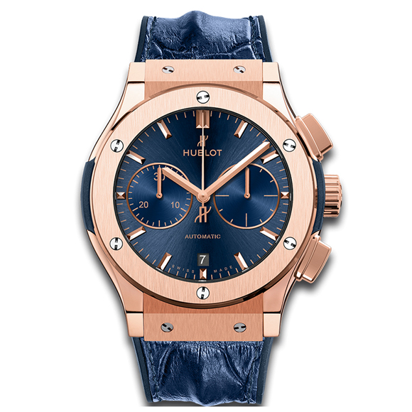 CLASSIC FUSION CHRONOGRAPH BLUE KING GOLD