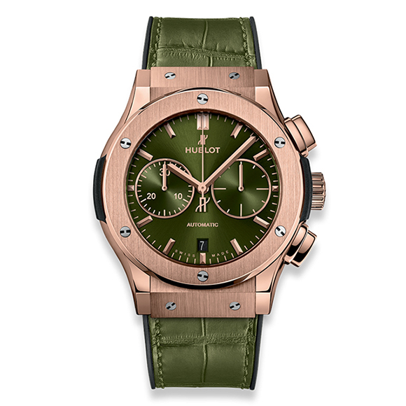 CLASSIC FUSION CHRONOGRAPH KING GOLD GREEN