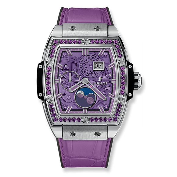 SPIRIT OF BIG BANG MOONPHASE TITANIUM PURPLE