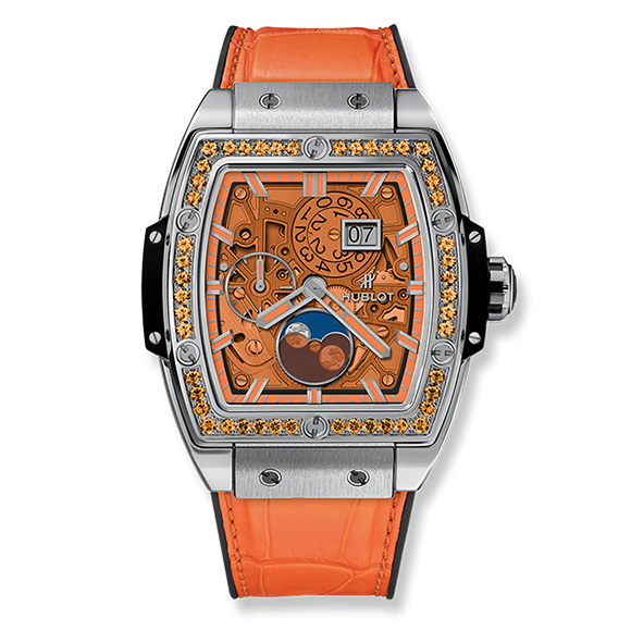 SPIRIT OF BIG BANG MOONPHASE TITANIUM ORANGE