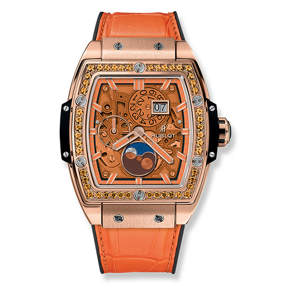 SPIRIT OF BIG BANG MOONPHASE KING GOLD ORANGE