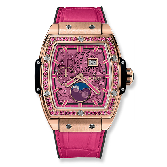 SPIRIT OF BIG BANG MOONPHASE KING GOLD PINK