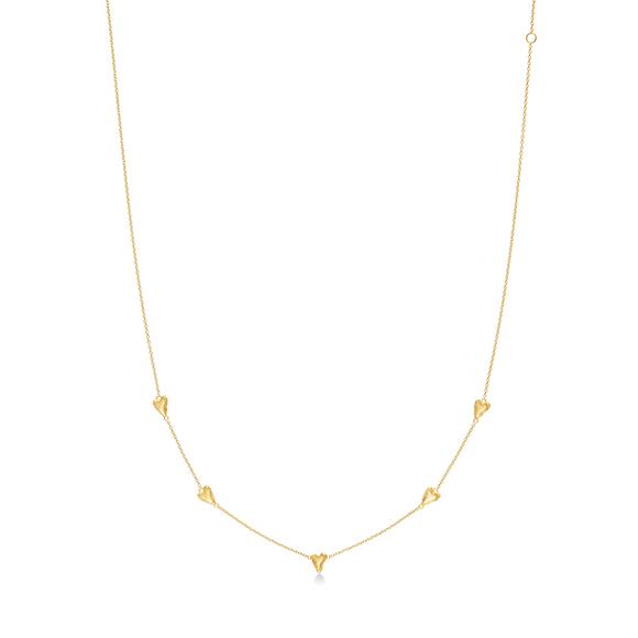 heart petal(S) necklace