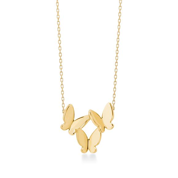 papillon brillant necklace