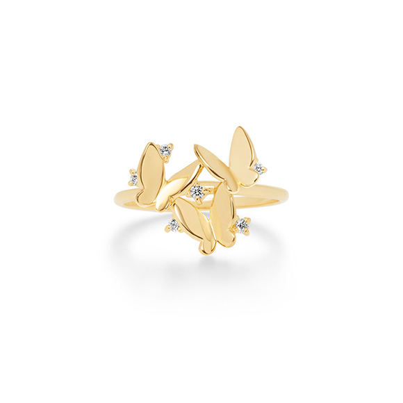papillon brillant(diamond)ring