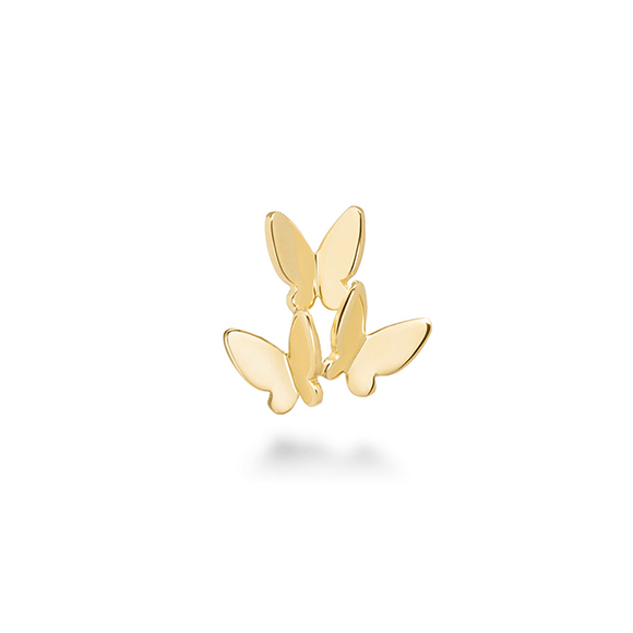papillon brillant pieced earring(1PS)