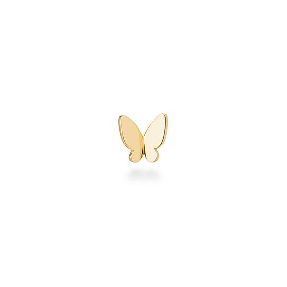 un papillon brillant pierced earring(1PS)