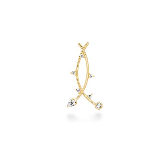 épines pierced earring(1PS)