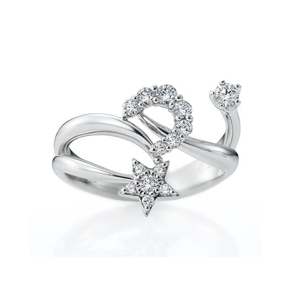 プラチナ ダイヤモンド RING