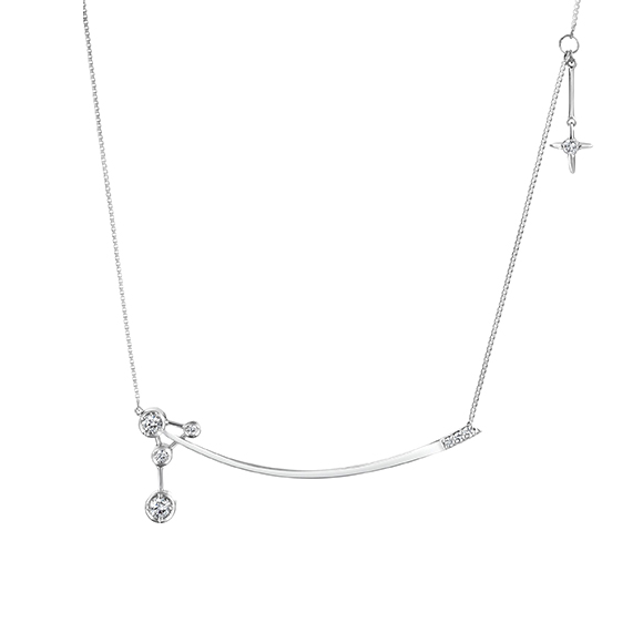 Snowing Night NECKLACE