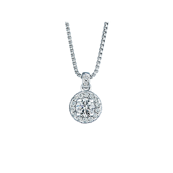 ROYAL ASSCHER DIAMOND NECKLACE