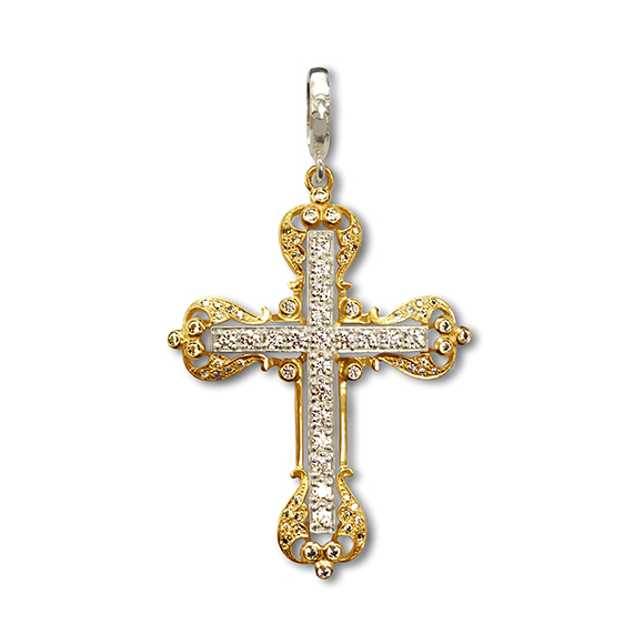 MINI VATICAN CROSS