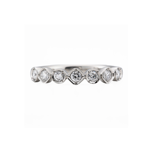 ROYAL ASSCHER DIAMOND RING