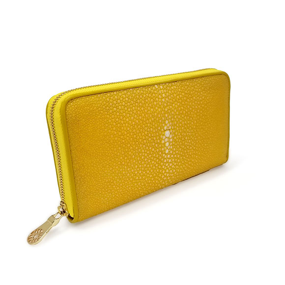 GARUSHA ZIP LONG WALLET