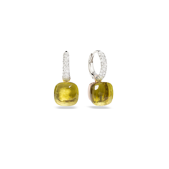 NUDO WITH DIAMONDS EARRINGS