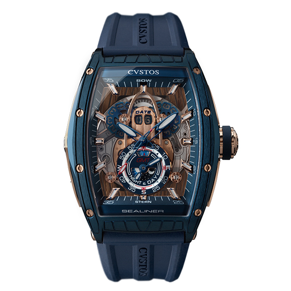 CHALLENGE SEA-LINER GMT STEEL BLUE COMP 5N