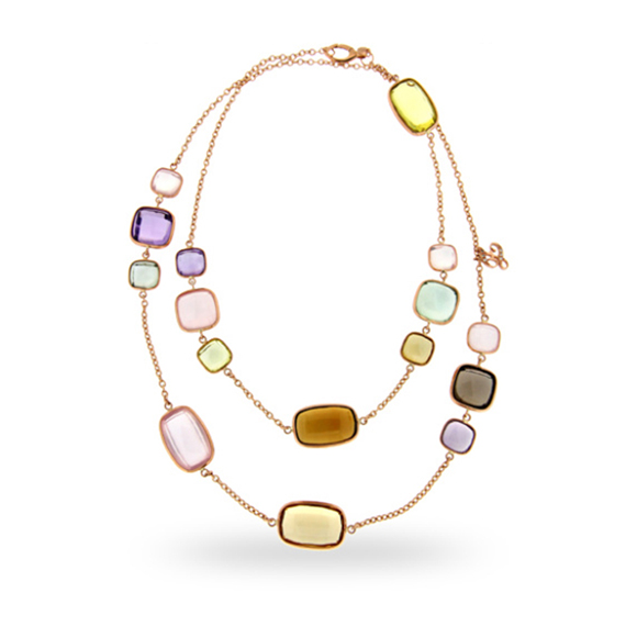 SEMI-PRECIOUS MIX NECKLACE