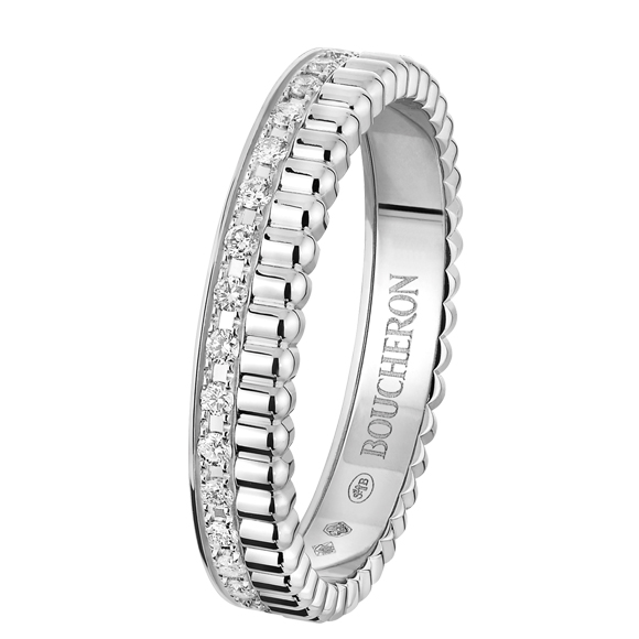 QUATRE RADIANT EDITION WEDDING BAND