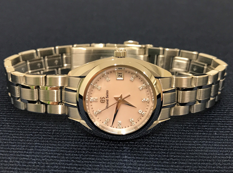 finest selection 136ef 8cb0a グランドセイコーフェア「女性の腕に美しい日本の時計を」  宝石 ...