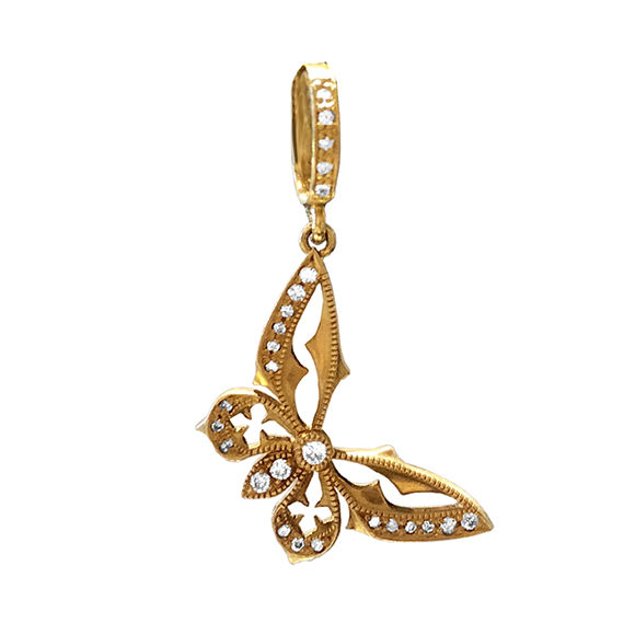 GOTHIC BUTTERFLY PENDANT