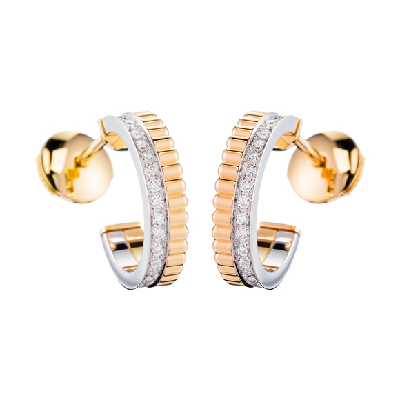 QUATRE RADIANT EDITION HOOP EARRINGS